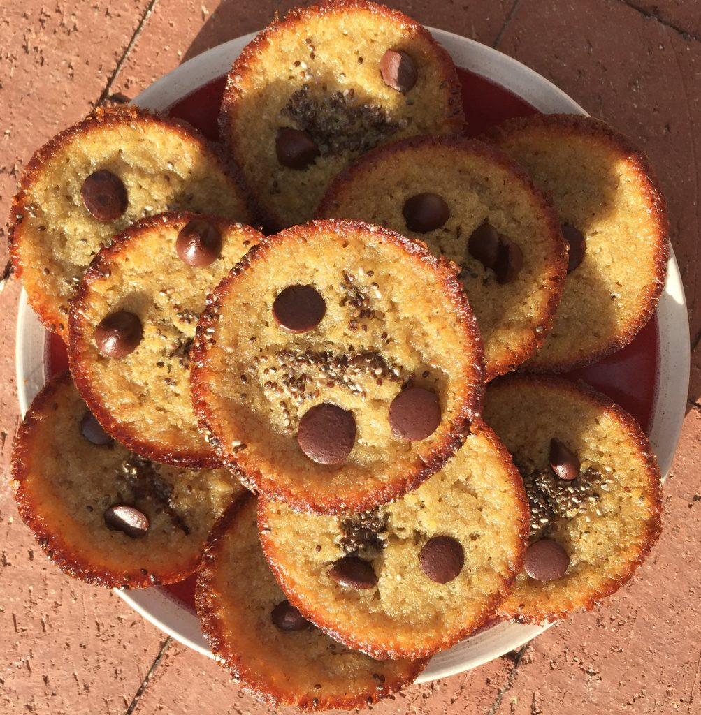 Autoimmune Banana Chocolate Chip Muffins