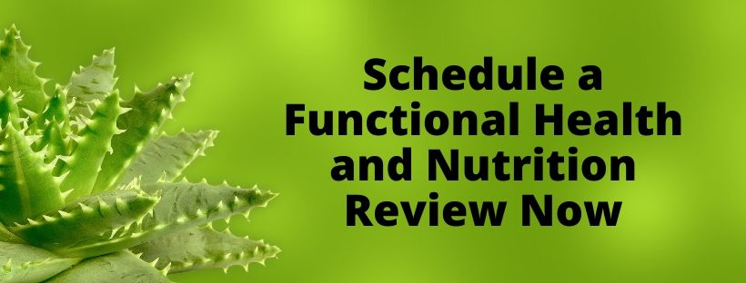 Schedule a Functional Health and Nutrition Review