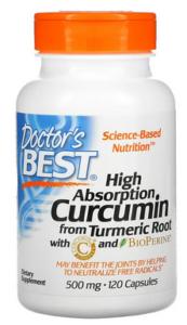 Doctor's best curcumin
